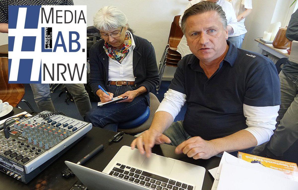 So geht moderner Journalismus – MediaLAB.NRW im Bunker Springerplatz