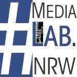 MediaLabNRW Logo mit #CreativeSpaces